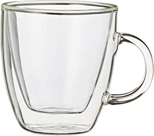 Bodum Espresso Mug Double Wall, Transparent, 10602-10