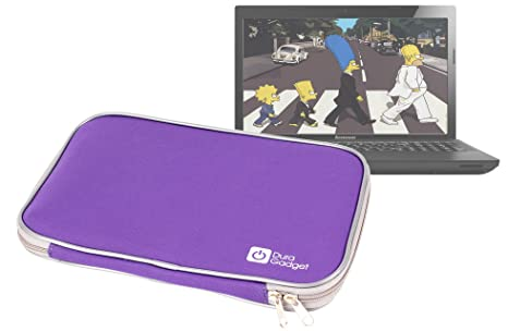 Neopreno DURAGADGET-Funda, cargador para ordenador portátil Lenovo IdeaPad Z500 Touch y IdeaPad G505S