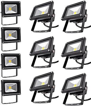 PrimLight Foco Led Exterior 10X 10W,Focos de Exterior,Proyector ...