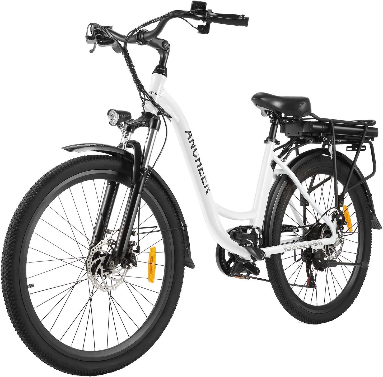 ANCHEER Bicicleta Eléctrica 26