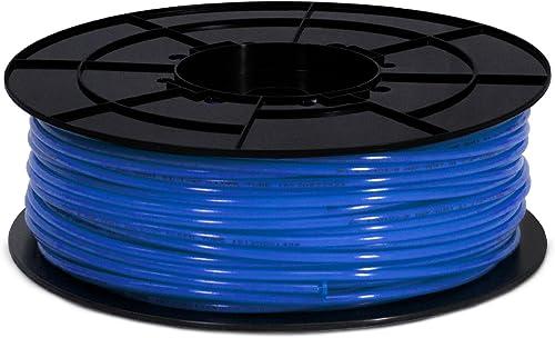 Express Water 1 4 Quarter Inch Polyethylene PE Tubing for Reverse Osmosis RO System, BPA Free, Blue, 500 Feet