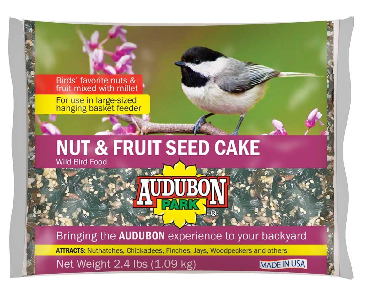 Audubon Park 11932 Nut & Fruit Seed Cake Wild Bird Food, 1.75-Pounds