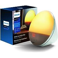 Philips Wake-Up Light - SmartSleep - Vakna på ett naturligt sätt - Soluppgångssimulering - 5 naturliga väckningsljud…