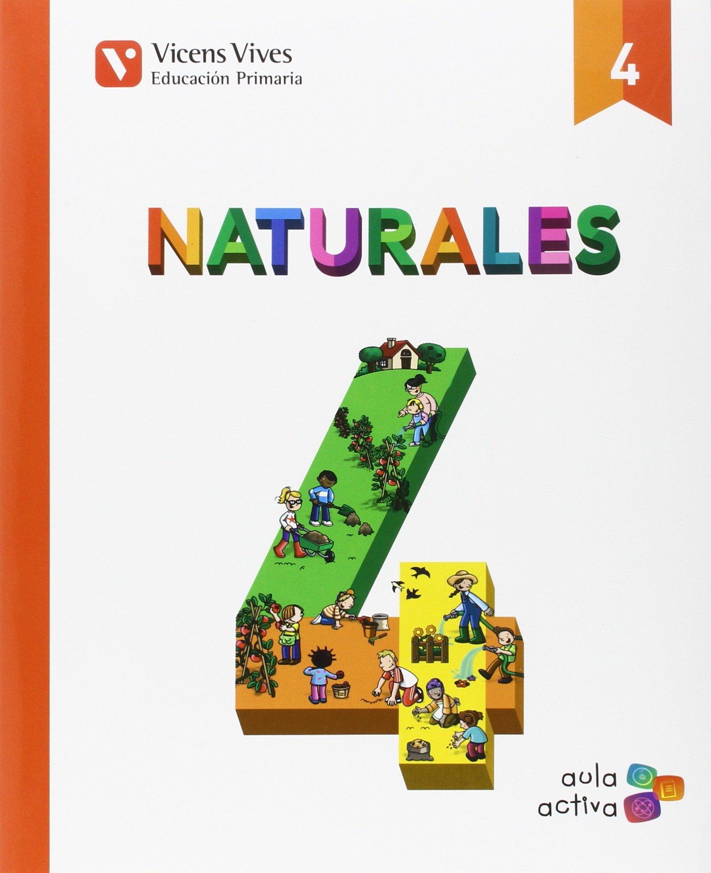 Naturales 4 (autonomico) (Spanish) Paperback – December 1, 2015