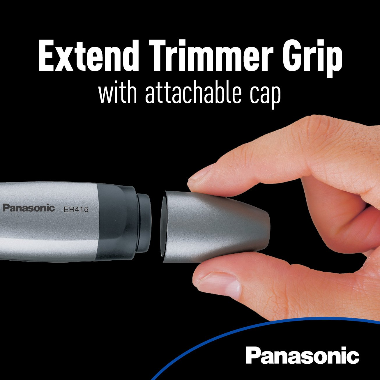Panasonic Ear and Nose Trimmer, Wet/Dry Convenient, ER415SC by Panasonic (Image #6)