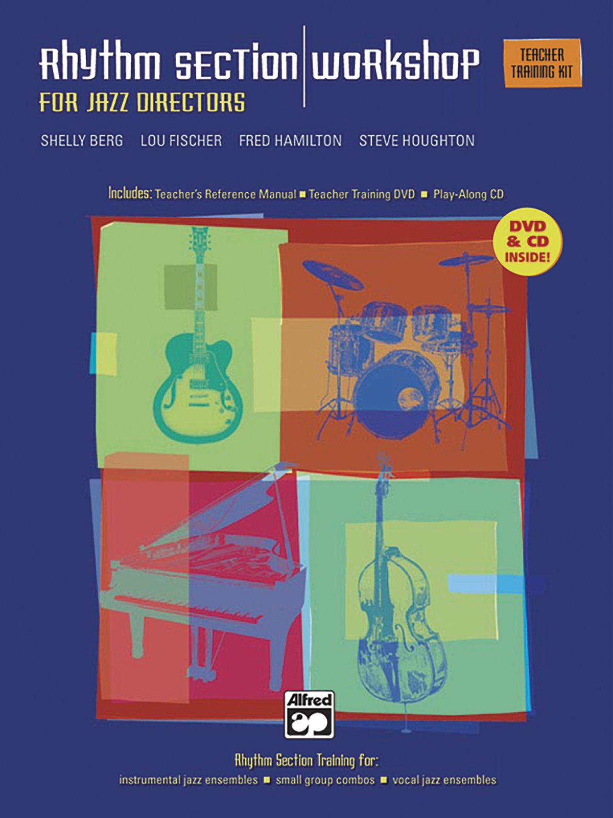 Download Rhythm Section Workshop for Jazz Directors: Rhythm Section Training for Instrumental Jazz Ensembles * Small Group Combos * Vocal Jazz Ensembles (Complete Kit), Book, DVD & CDs pdf