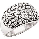 Silpada Sterling Silver 'Embellished Pav_ Ring'