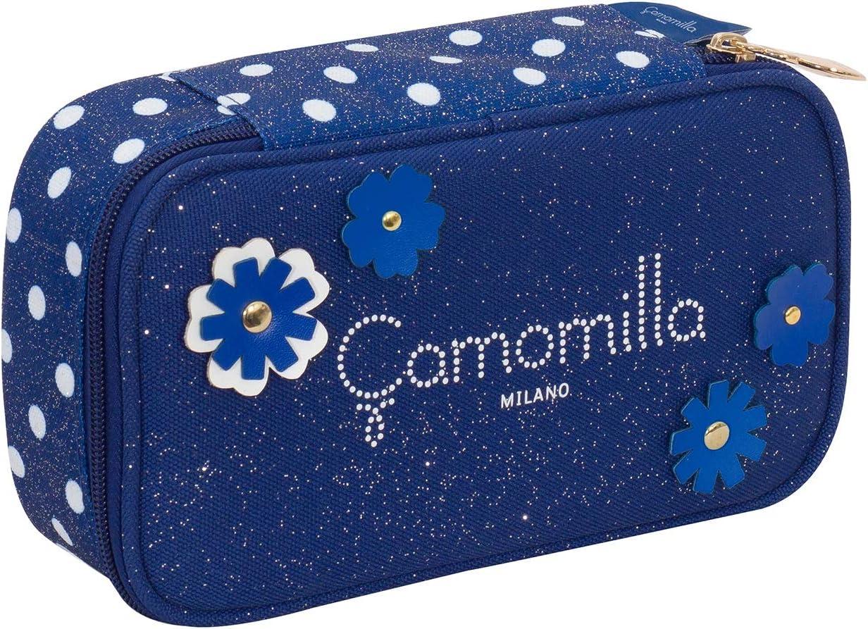 pennarelli/… Quick Case Camomilla matite Blu Con materiale scolastico per la scuola: penne