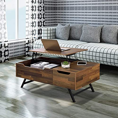 SSLine Lift Top Wooden Coffee Table