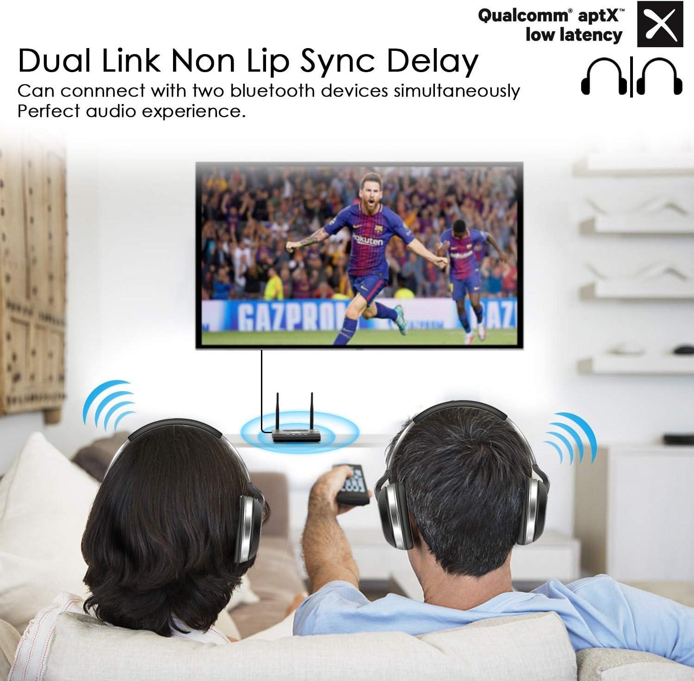 KASTEWILL Adaptador Bluetooth 5.0 Receptor Transmisor, 3-in-1Dual Antena Receptor 100M Amplio Rango con RCA, AUX , Óptico Digital para el hogar / TV / Coche o el Sistema Estéreo del Hoga: Amazon.es: Electrónica