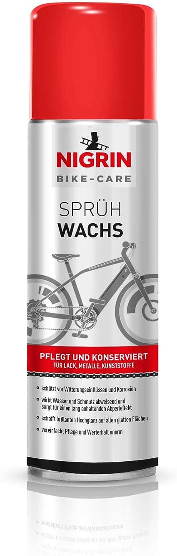 Nigrin Bike Care Sprühwachs 300ml Sport Freizeit