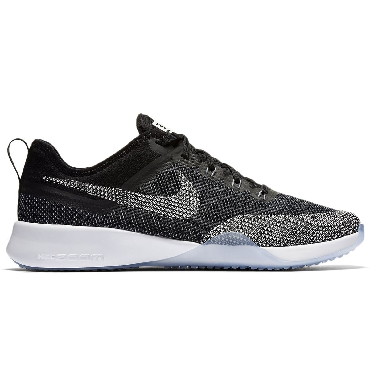 381dce3371f9 Galleon - NIKE Womens Air Zoom Dynamic Mesh Trainers Black White Cool Grey  (9 M US)