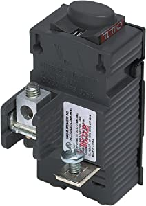 UBIP120-New Pushmatic P120 Replacement. One Pole 20 Amp Circuit Breaker Manufactured by Connecticut Electric.