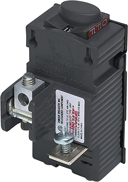 UBIP130-New Pushmatic P130 Replacement. One Pole 30 Amp Circuit Breaker Manufactured by Connecticut Electric.
