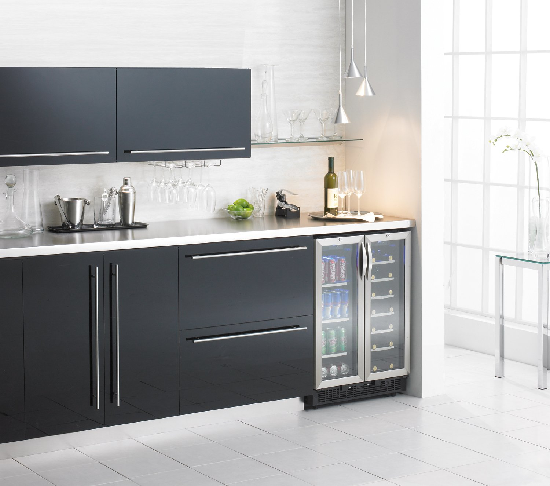 Undercounter Drink Refrigerator Amazoncom Danby Dbc2760bls 50 Cu Ft Silhouette Beverage