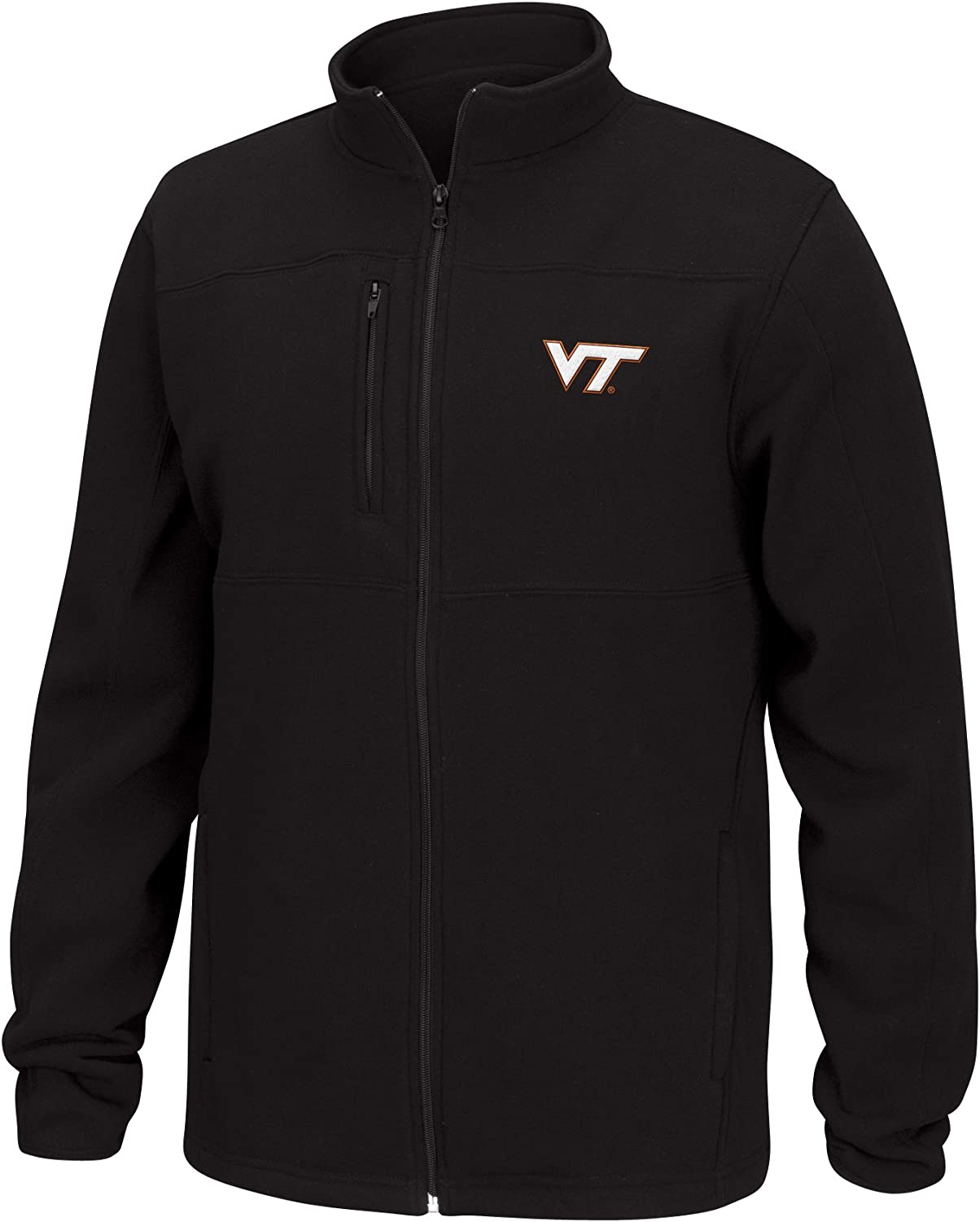 J America NCAA Mens Quest Brushed Poly Jacket