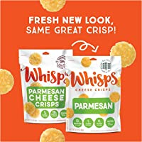 Cello Whisps Pure Parmesan Cheese Crisps, 2.12 Ounce