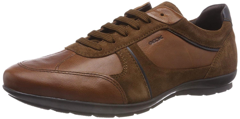 TALLA 43 EU. Geox Uomo Symbol A, Zapatos de Cordones Oxford para Hombre