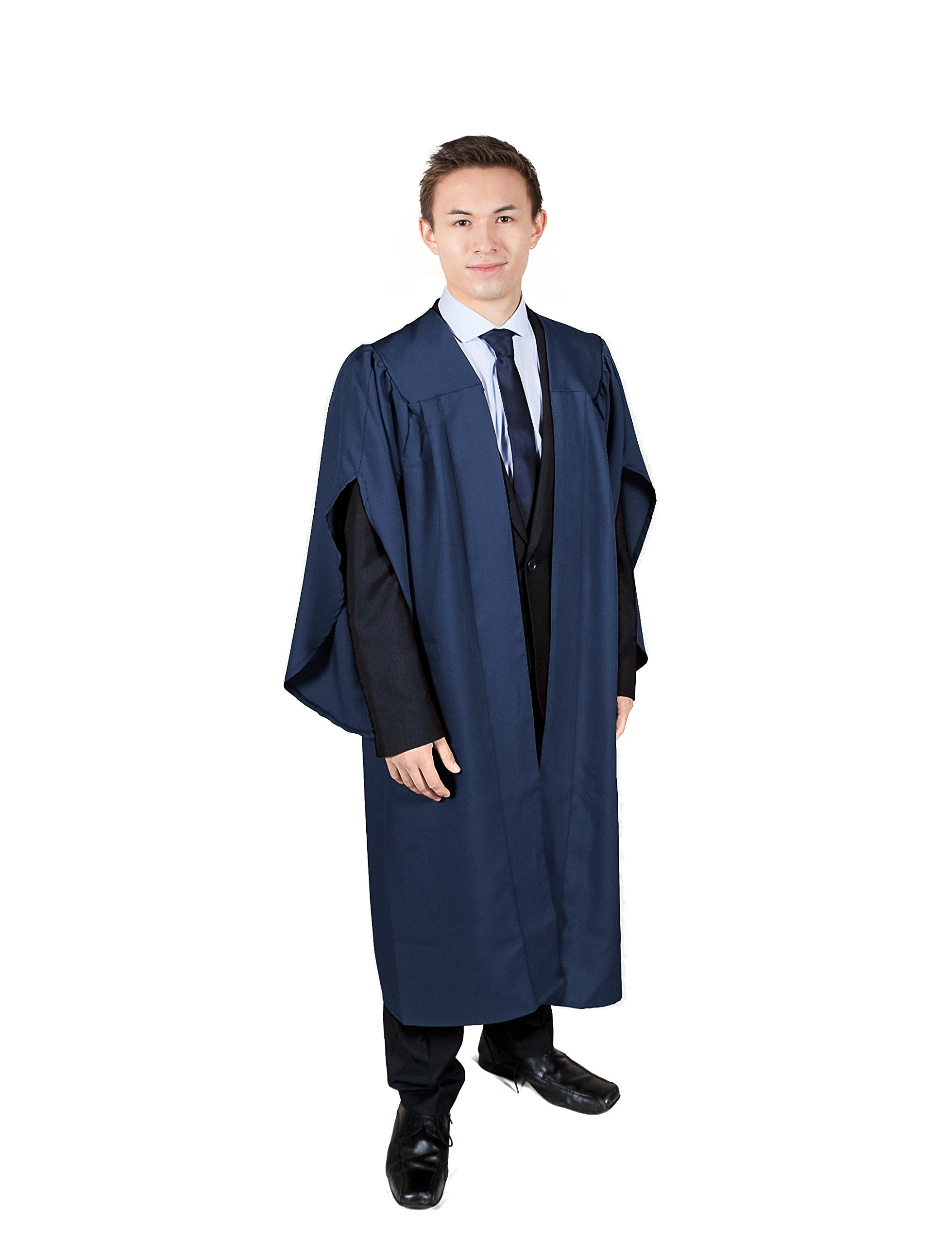 Graduation Attire Navy Open Front Choir Robe (Height 5'0-5'2)