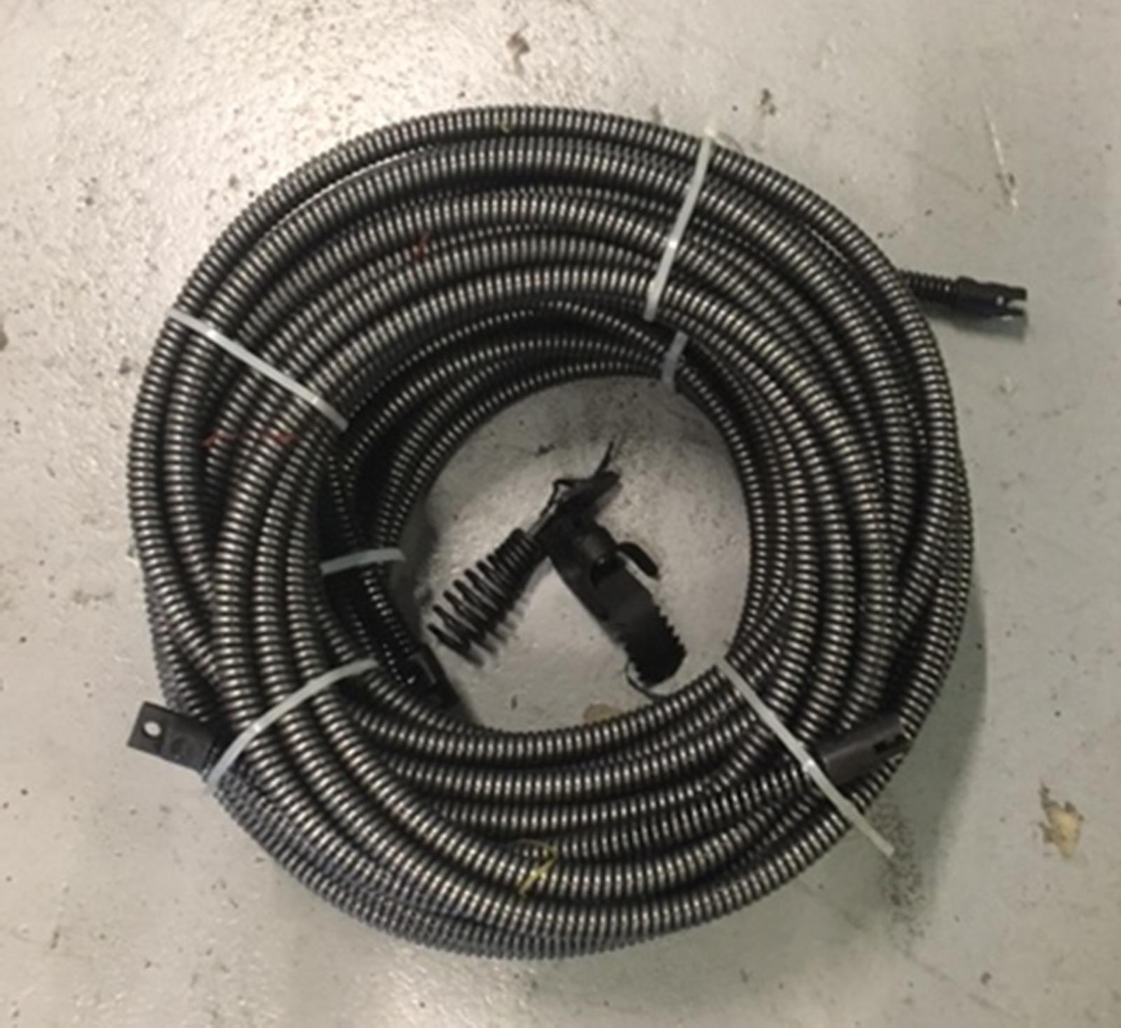 50' + 50' = 100' Drain Auger Cable Replacement Cleaner Snake Clog Pipe Sewer by VKRP Enterprises