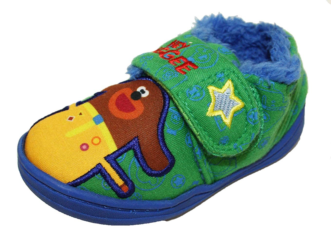 Studio AKA Hey Duggee Boys Hugs Low Top Slippers UK Sizes Child 5-10 WLhugsparent