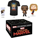 Funko Marvel Collector Corps: Captain Marvel - March 2019 Theme, X-Large