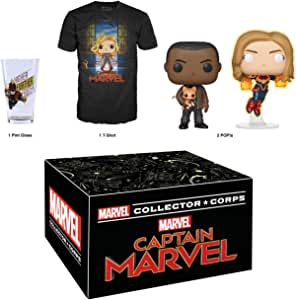 Funko Marvel Collector Corps: Captain Marvel - March 2019 Theme, Medium