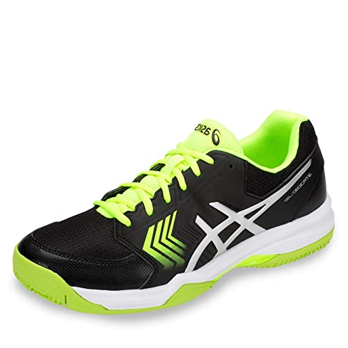 save off 9b104 e9bbd ASICS Gel-Dedicate 5 Clay Scarpe da Tennis Uomo, Multicolore (Black Flash