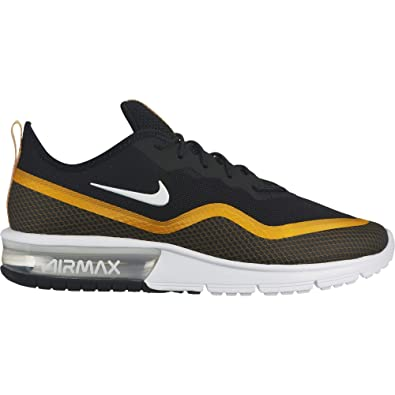 low priced c5dda 53336 Nike Air Max Sequent 4.5 Se, Chaussures d Athlétisme Homme, Multicolore  (Black