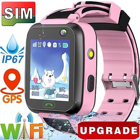 Amazon.com: GBD - Reloj inteligente para niños y niñas ...