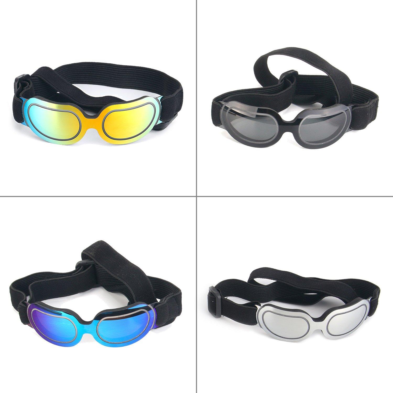 HHX Gafas de sol para perro - Nueva versión Cool perro gafas ...