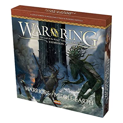 Ares Games WOTR Warriors of Middle Earth: Toys & Games