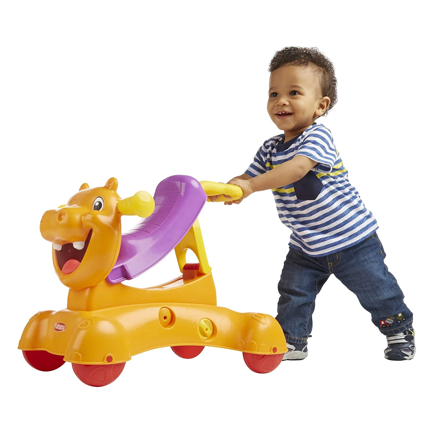 Amazon Playskool Rock Ride n Stride Hippo Toys & Games