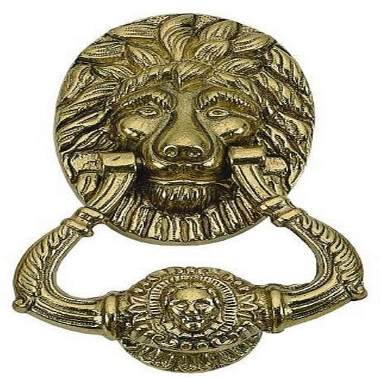 Polished Brass Brass Accents A03-K4020-605 Churchill Door Knocker 6 3//4