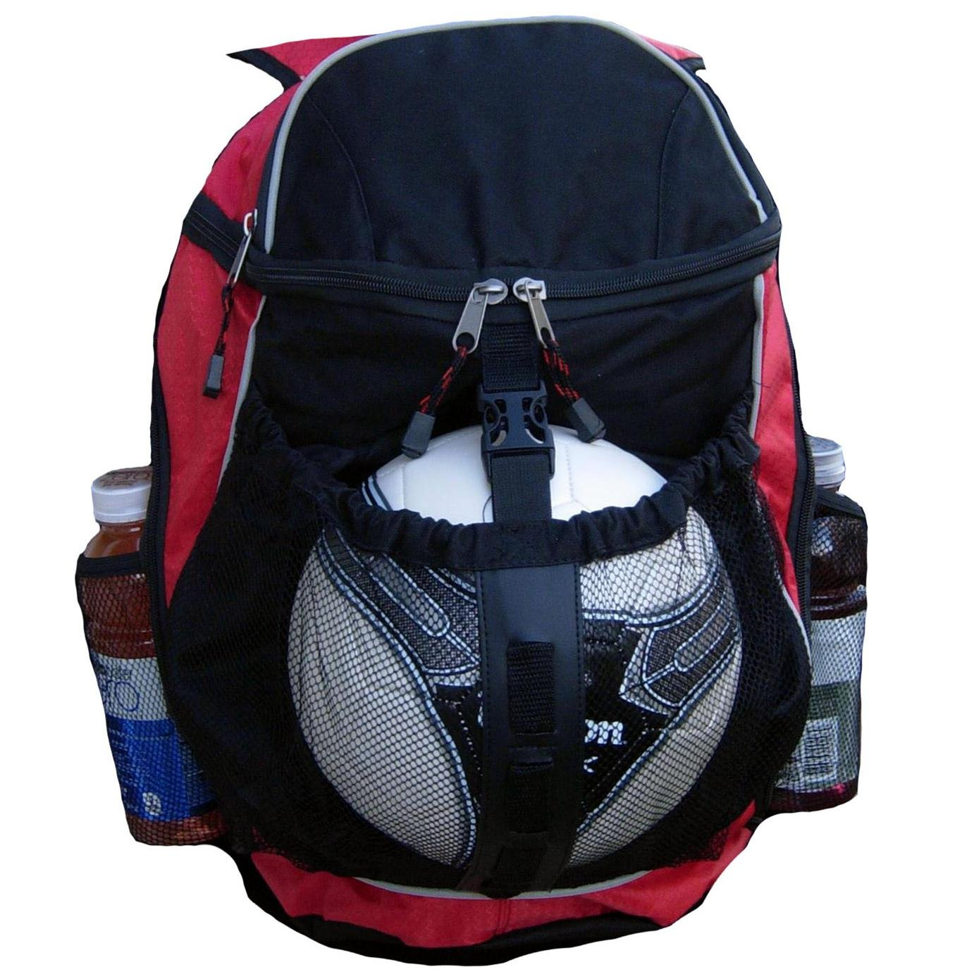 Sports Athletic Backpack w// Pocket for Team Soccer Ball Volleyball Basketball