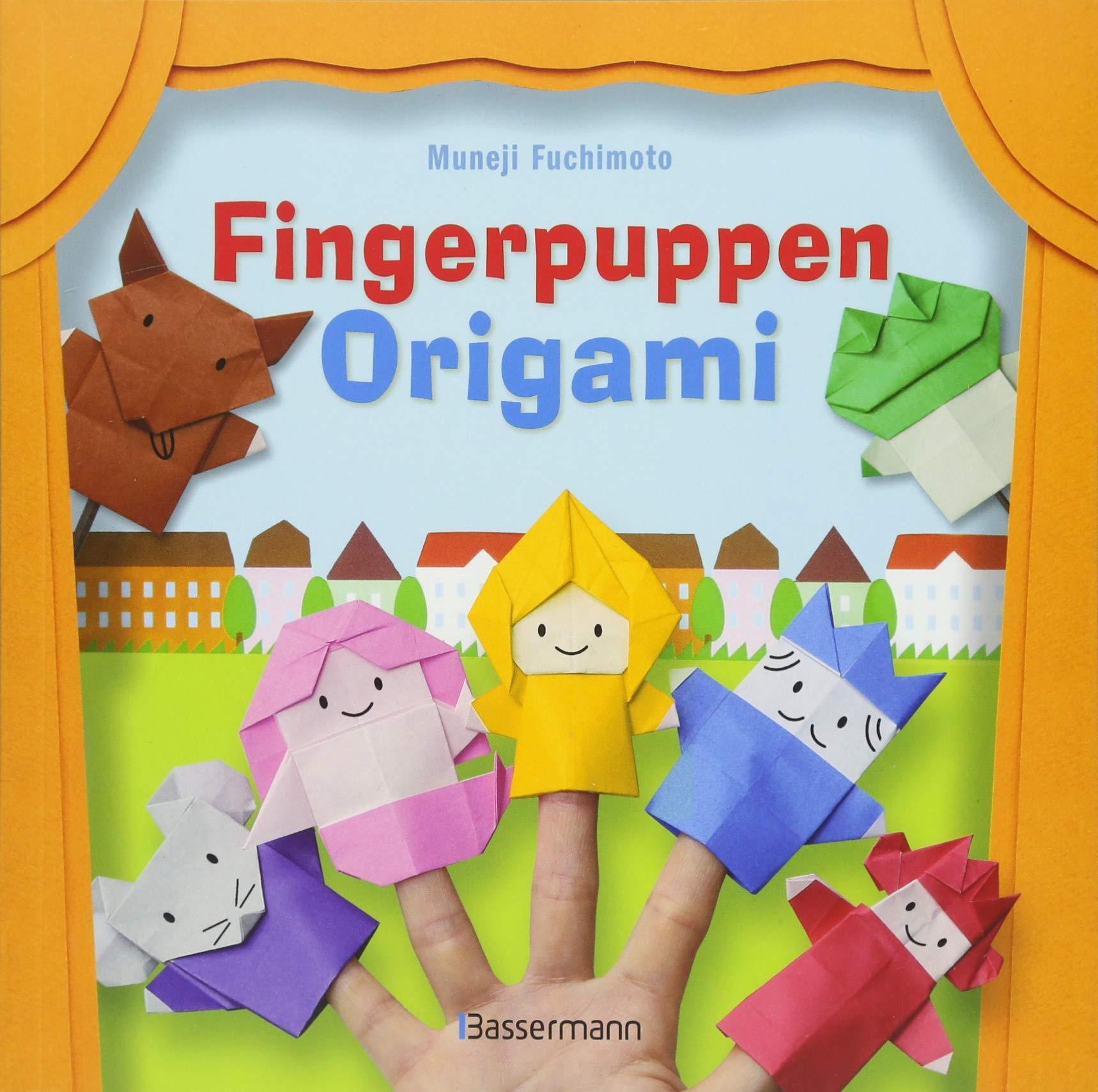 Fingerpuppen Origami Uber 20 Faltfiguren 25 Blatt Papier Amazonde Muneji Fuchimoto Bucher