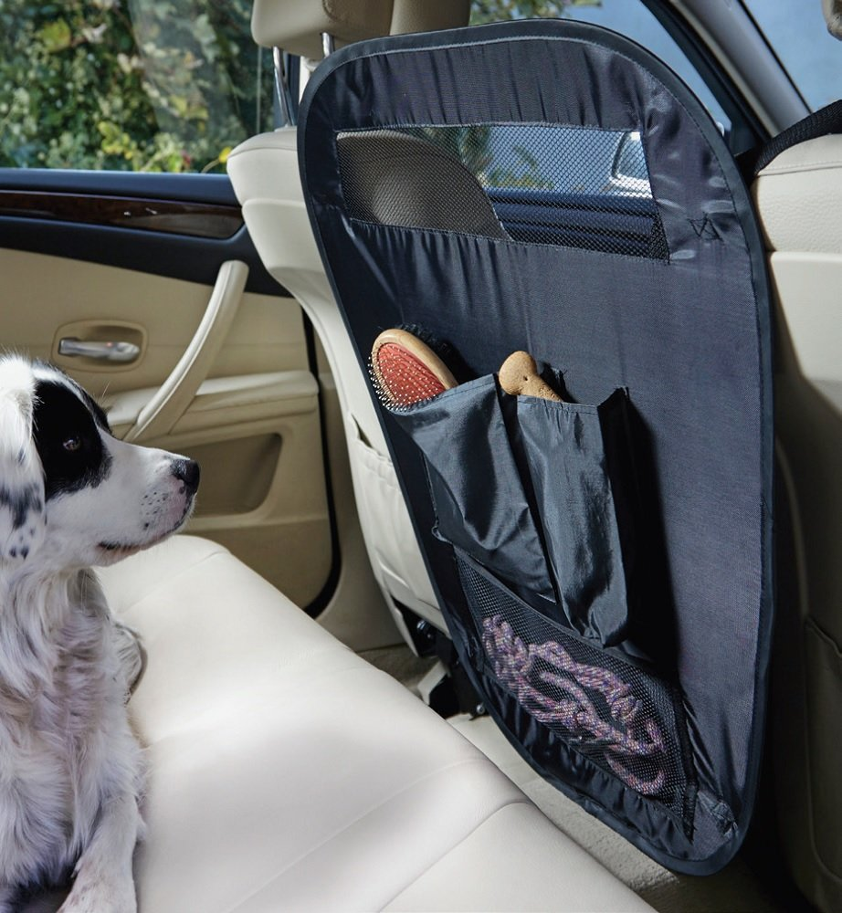 Pet Protection Car Barrier - Fold Away Divider with storage pockets - Ideal for keeping dogs in the back Amazon.co.uk Pet Supplies & Pet Protection Car Barrier - Fold Away Divider with storage pockets ...