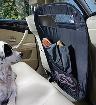 Pet Protection Car Barrier - Fold Away Divider with storage pockets - Ideal for keeping dogs & Pet Protection Car Barrier - Fold Away Divider with storage ... pezcame.com