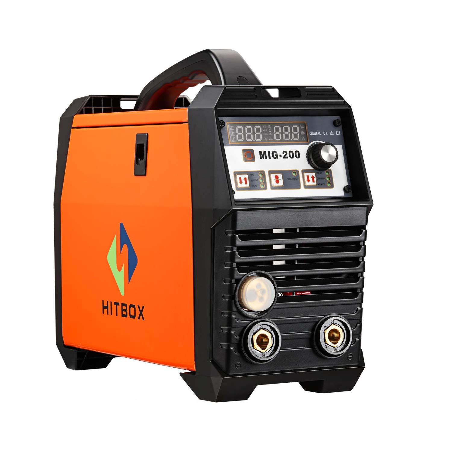 Mig Welder Inverter Welding 200amp 220v Dc Mag Arc Lift Tig Machine Diagram Gas Gasless Flux Cored Wire Solid Core