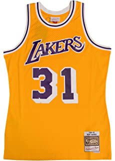 Mitchell & Ness Los Angeles Lakers Kurt Rambis Swingman Jersey NBA Throwback