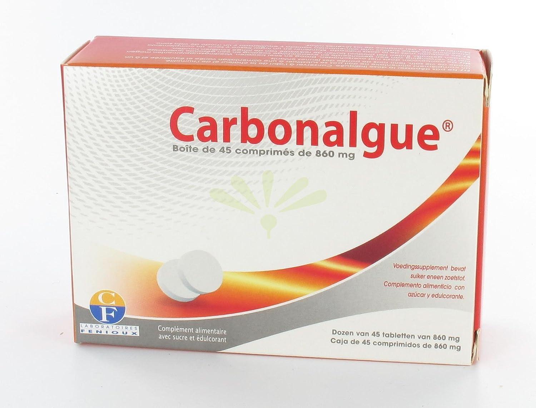 Carbonalgue - 40 comp - Fenioux: Amazon.es: Salud y cuidado ...