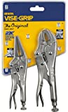 IRWIN VISE-GRIP Original Locking Pliers with Wire Cutter Set, 2 Piece, 36