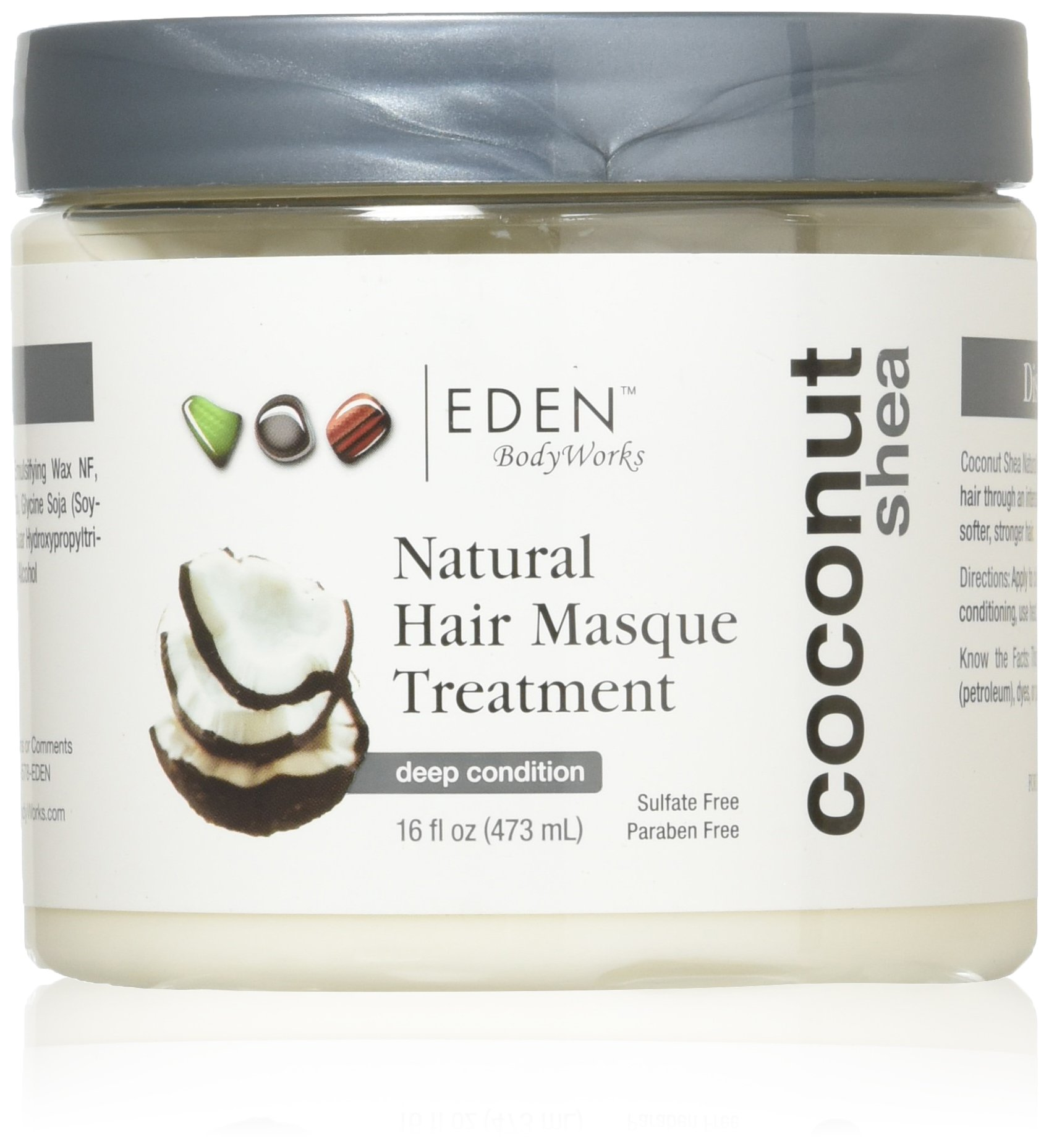 EDEN BodyWorks Coconut Shea Hair Masque Treatment, 16oz