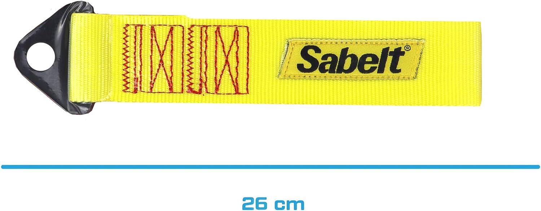 Sabelt Sbccac0028 Tow Band 2 9 Tonnen Maximale Belastung Gelb Auto