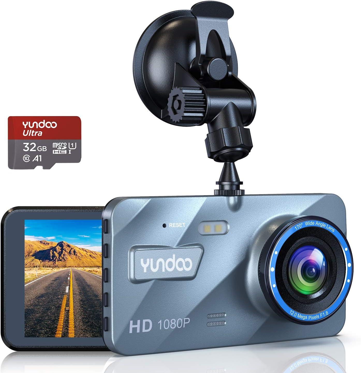 Dash Cam 4 Inch Lcd Screen 1080p Full Hd Car Camera Elektronik