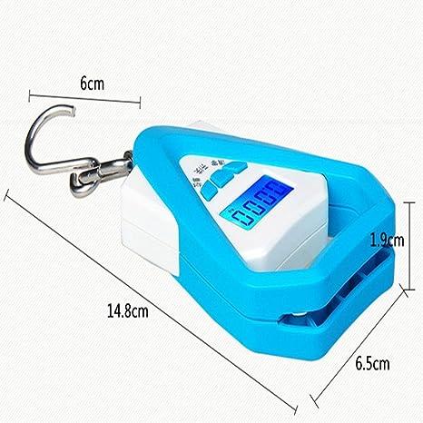 Yukun Báscula portátil Escala de pesaje de la Escala de la Mano de la Mini balanza