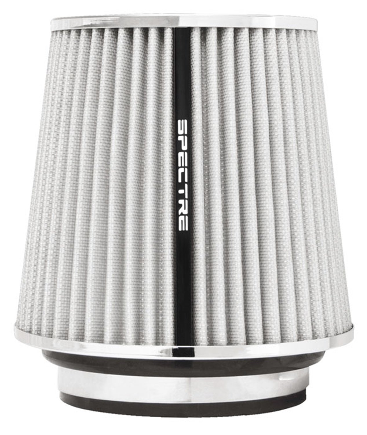 102 mm//89 mm//76 mm Height; 6 in Top 121 mm Flange ID; 6.719 in Base; 4.75 in 152 mm Spectre Performance 8136 Universal Clamp-On Air Filter: Round Tapered; 3 in//3.5 in//4 in 171 mm
