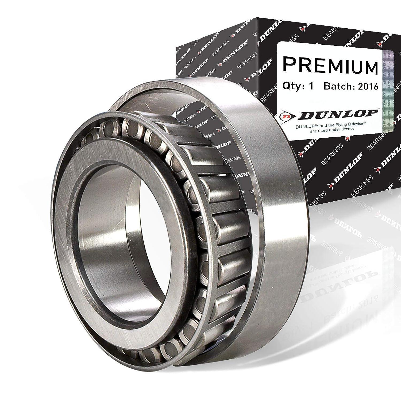 P6-Pr/äzision Dunlop 30205-P6 Einreihige Kegelrollenlager 25 mm ID x 52 mm OD x 15 mm B