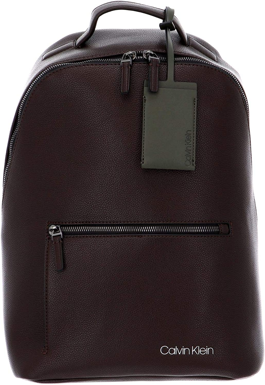 Calvin Klein CK QT Pocket Backpack Dark Brown