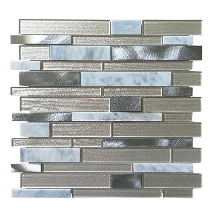 art3d glass mosaic tile for kitchen backsplash bathroom backsplash